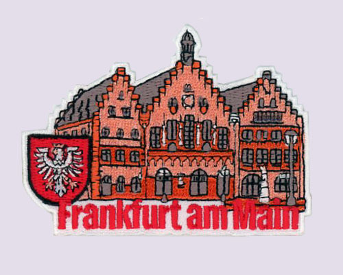 Frankfurt Am Main Embroidered Patches