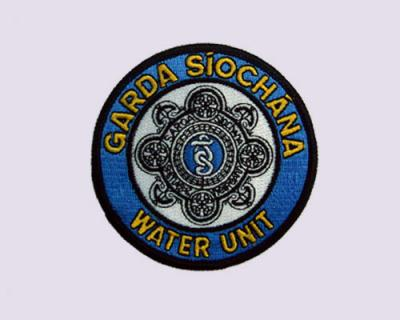 100% Garda Siochana Water Unit Embroidered Patch
