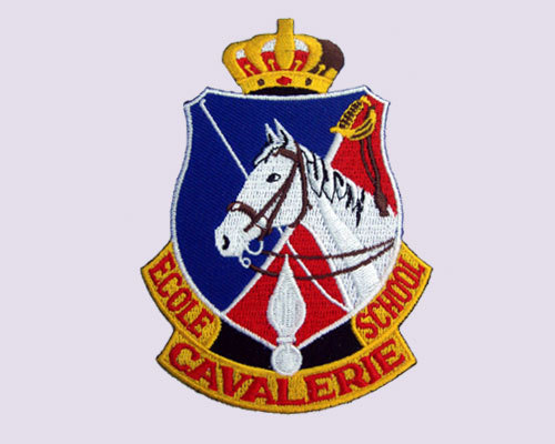 Cavalryschool Embroidered Patch