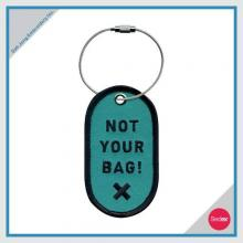 Embroidery Luggage Tag - NOT YOUR BAG! X