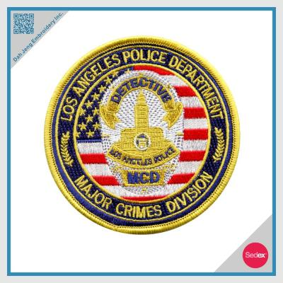 Police Detective Embroidery Patch Police Patch