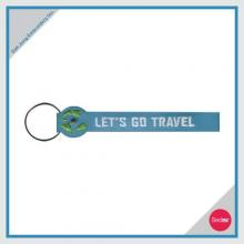 Embroidery Key Ring - LET'S GO TRAVEL