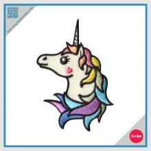 Iron on Embroidery Unicorn Patch